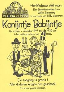 1997: Konijntje Bobijntje