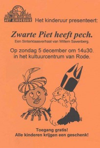 2000: Zwarte Piet heeft pech