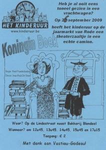 2009: Koningin Boek
