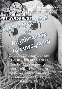 2014: Juffertje Geluk en Mijnheertje Nieuwsgierig