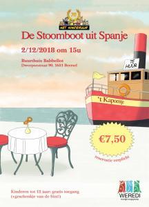 2018: De Stoomboot uit Spanje
